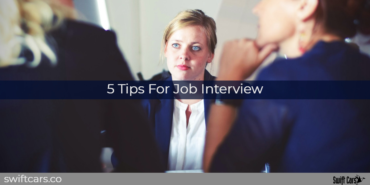5 tips for job interview
