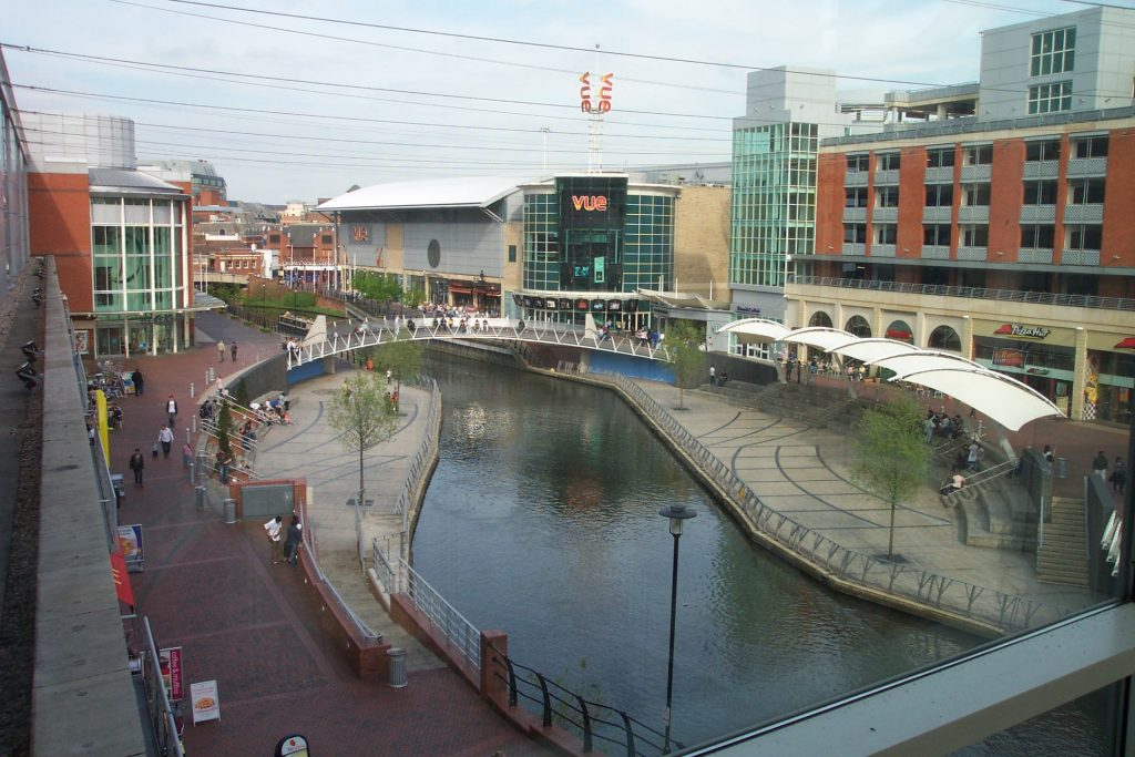 shopping in reading town centre