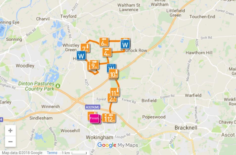 wokingham half marathon 2019