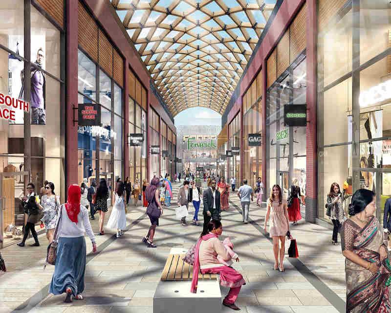 lexicon bracknell shopping centre